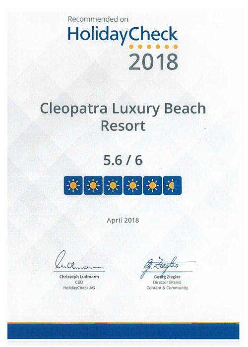 Cleopatra Hotel - Luxury Resort - Makadi