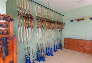 Archery Equipment Room